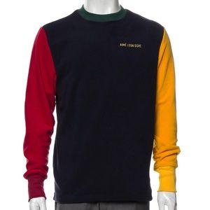 NWT Aimé Leon Dore Fleece Colorblock Sweater, S